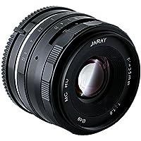 JARAY 35mm f/1.6 Sharp High Aperture Manual Focus Prime Lens for SONY E-mount APS-C Mirrorless