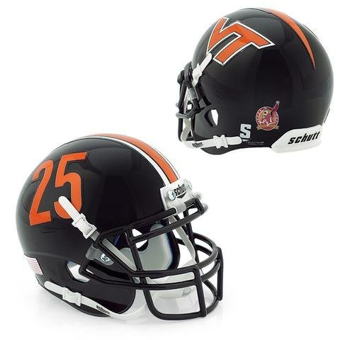 Virginia Tech Hokies Frank Beamer Officially Licensed Full Size XP Replica Football Helmet - Tech Hokies Authentic Football Helmet