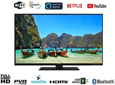 EAS E40SL802 TELEVISOR 40 FHD Smart TV DVB-T/T2/C/S/S2 HEVC WiFi: Amazon.es: Electrónica