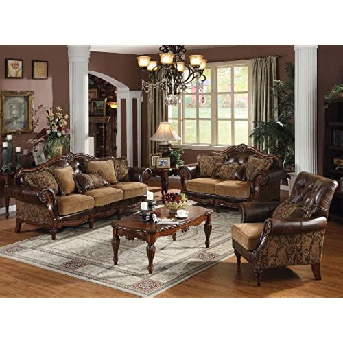 Dreena Collection 3pc Set: Sofa, Loveseat U0026 Chair
