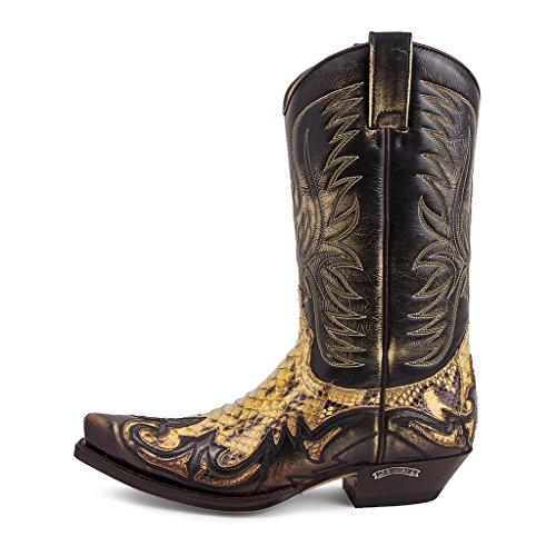 Tierra Piton 2 Denver Panizo 3241 Barriga Boots Cuervo Sendra xn1APA