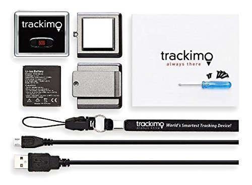 Trackimo TRKM-002 GPS Tracker & Locator, 1.5, Black by Trackimo (Image #2)
