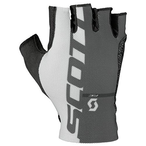 (Scott Sports Mens RC Pro Tec Short Finger Cycling Gloves - 241684 (Black - L))
