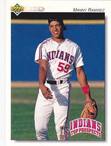 - 1992 UPPER DECK MANNY RAMIREZ TOP PROSPECTS RC ROOKIE CARD