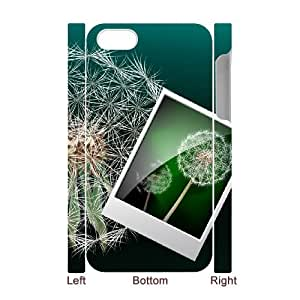 3D IPhone 4/4s Case, Girl Design Electronic Magnifying Glass Case for IPhone 4/4s {White}