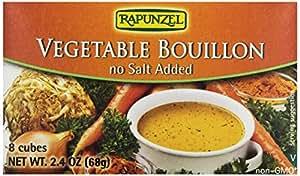 Rapunzel, Pure Organics Vegetable Bouillon, No Salt Added/ Low Sodium, 2.4 oz
