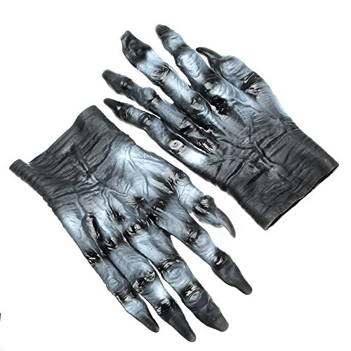 Winnerbe Halloween Terror Masque Party Costume Cosplay Scary Haunted Ghost Vampire Monster Horror Gloves