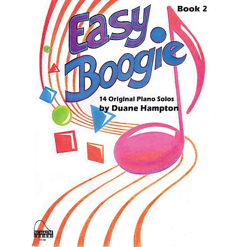 Easy Boogie Book 2 Educational Piano Series Softcover Composed by Duane Hampton- Pack of 3