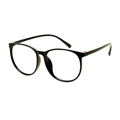 680636116f Xinvision Lightweight TR90 Retro Full Rim Student Finished Glasses Big  Round Frame Myopia Spectacles Women Men