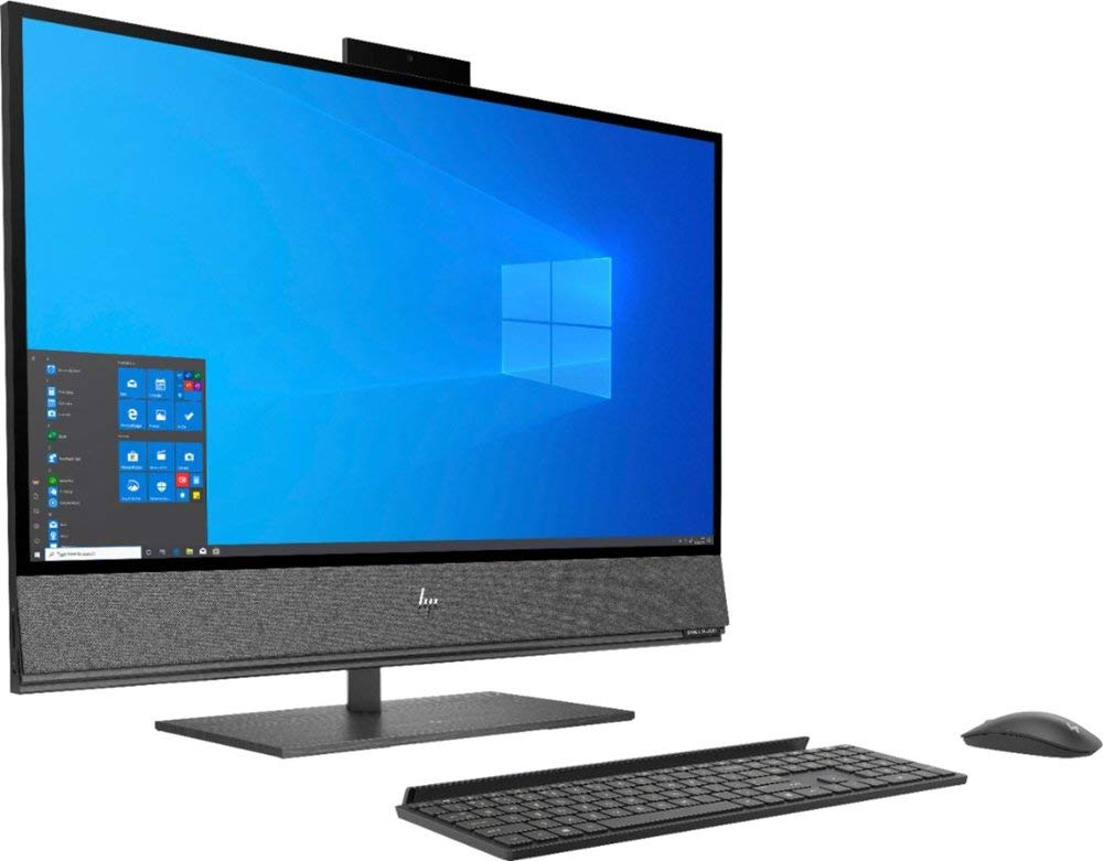 "HP Envy 32 Desktop 2TB SSD 2TB HD 64GB RAM (Intel Core i9-9900 Processor Turbo Boost to 5.00GHz, 64 GB RAM,2 TB SSD + 2 TB Hard Drive, 32"" 4K UHD (3840 x 2160), Win 10) PC Computer All-in-One"