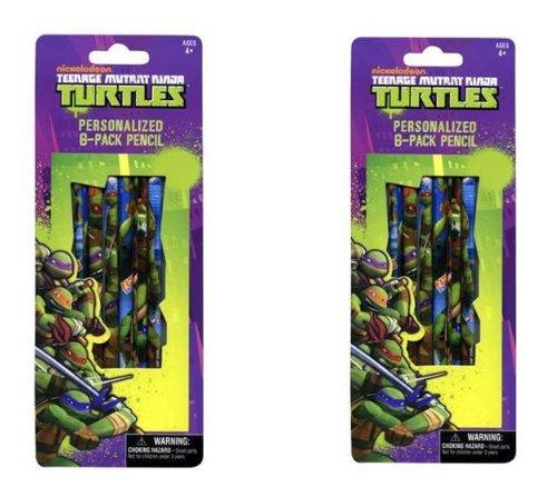 Amazon.com : TMNT Ninja Turtle 6 pk Pencils x 2 packs (total ...
