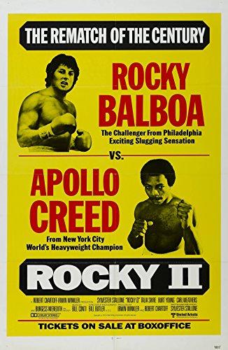Rocky II  Movie Poster 24x36