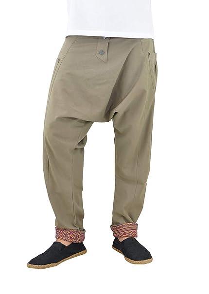 virblatt Pantalones cagados Mujer Harem Pants Pantalones Anchos Baggy -  Freudentanz  Amazon.es  Ropa y accesorios ed3261d5378