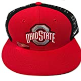 Nike Ohio State Buckeyes True Sideline Player Cap One Size Snap Back Red