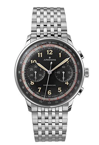 [ユンハンス]JUNGHANS 腕時計 自動巻き マイスター テレメーター 027 3381 44 メンズ 【正規輸入品】 B00LFIEGEC