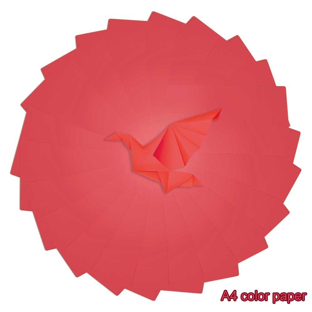 Apestool A4 Carta Lucida Colorata A4 100 fogli (Colorato)