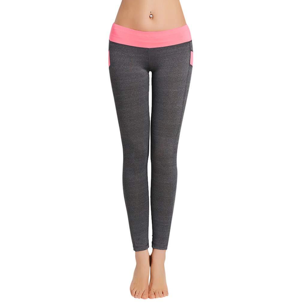Kiminana Tight-Fitting Professional Sports Running Yoga Pants Unisex Pink