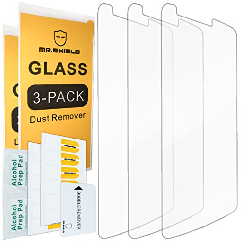 [3-PACK]-Mr Shield For LG G3 [Tempered Glass] Screen Protector with Lifetime Replacement Warranty