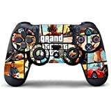 Stickers GTA pour Playstation 4, PS4