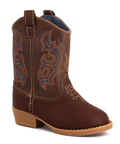 Natural Steps Bronco Boot (Infant/Toddler/Little Kid),Brown,6 M US (Toddlers Cowboy Boots)