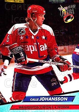 Amazon.com  (CI) Calle Johansson Hockey Card 1992-93 Ultra (base ... 6c883e54645a