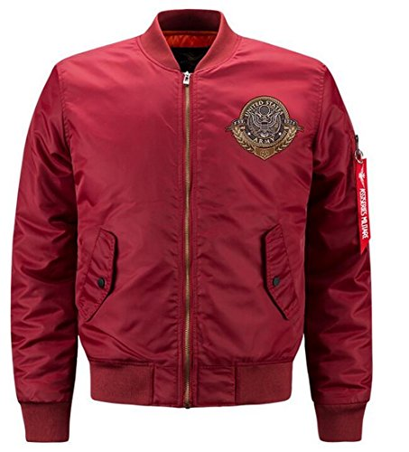 835 Chaqueta rouge DHYZZ para Hombre BZOWYwz4q