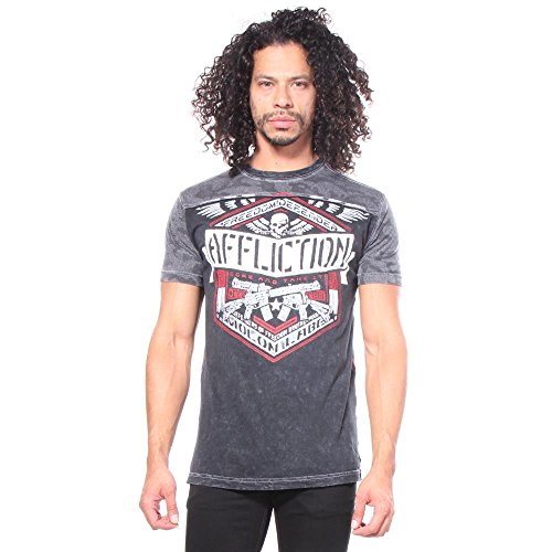 Affliction Deployed GI Foundation T-shirt L (Affliction Short Sleeve T-shirt)