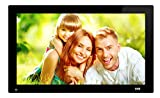SSA 21.5 Inch Full HD 1080P Widescreen Digital Photo Frames with Motion Sensor for Tabletop or Wall Mount Use - 16GB USB Stick - Support Photo - Music & Video - HDMI VESA 1920x1080 pixel 16:9
