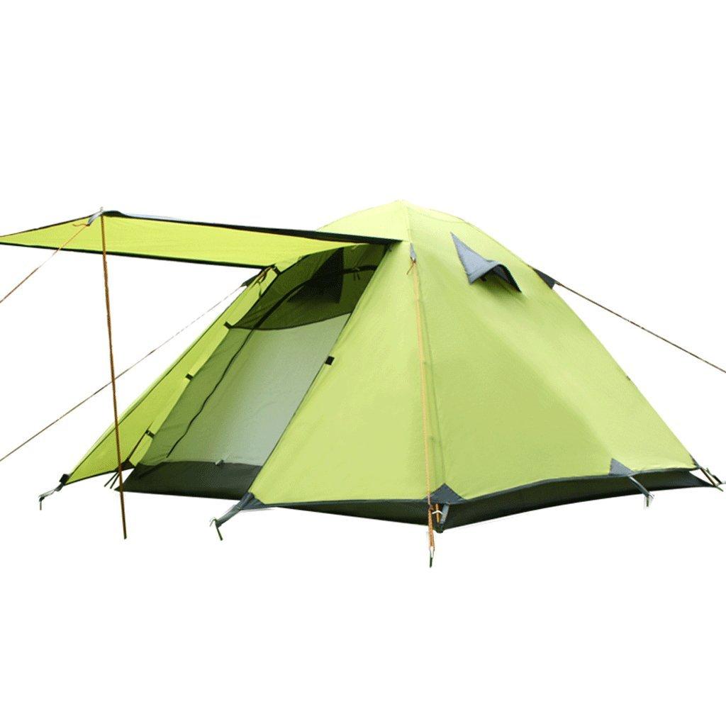 TLMY Doppelte Wilde kampierende Strandzelte des im Freien verdunkeln kampierende Ausrüstung der Jahreszeiten Vier Zelte (Farbe : C)