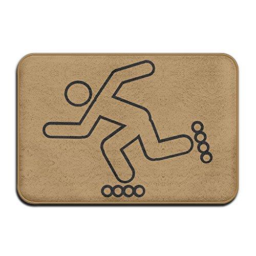Roller Skating Runner Anti-skidding Welcome Doormat Bath Mat