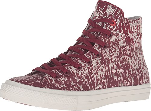 Converse Mens All Star Hero Chuck II Hi Sneaker (7.5 (D) M US, Red Block/Buff) (Hero Converse)