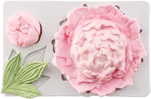 Silicone Fondant Mold Flower Center Clay Molds Printing Mould fimo Polymer Clay Tool Mould Decorating Tools caly Flower Tools