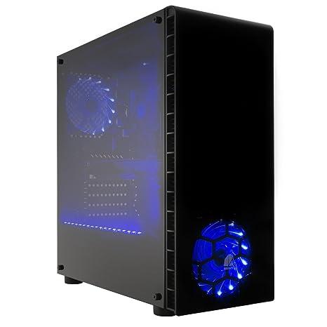 NITROPC - PC Gamer Avanzado *Descuentos Navideños* (CPU Quad-Core 4 x 3,70Ghz, T. Gráfica Radeon RX 580 4GB GDDR5, SSD 240GB, HDD 2TB, Ram 16GB, ...