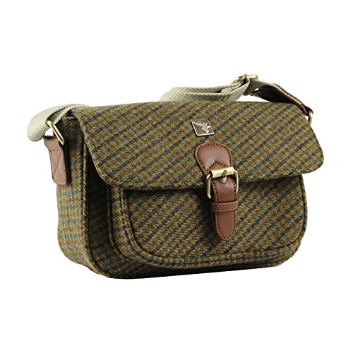 House Tweed Of Green Bags Woman OPHFOwq