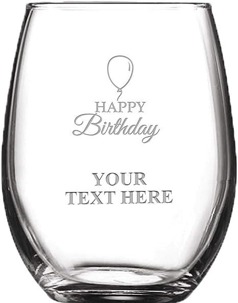 Birthday Keepsake Happy Birthday Wine Glass Charm Special Birthday Charms