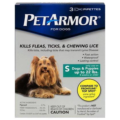 PetArmor for Dogs 6pk Small 1-22lbs by PETARMOR (Image #1)