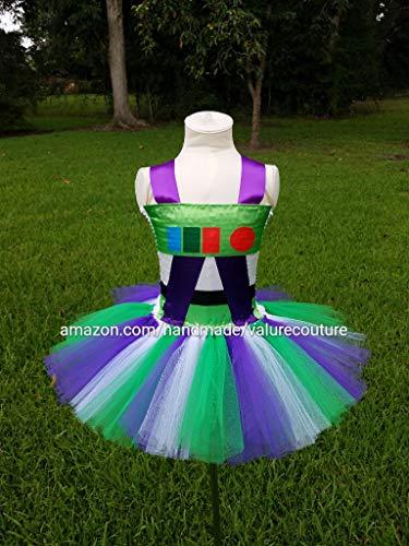 Newborn Alien Costumes - Toy Story Buzz Lightyear Inspired Tutu