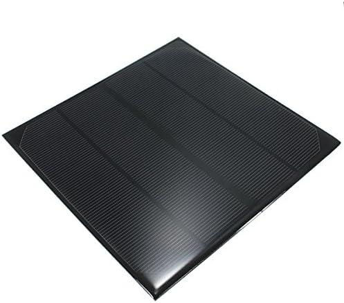 MYAMIA 6V 4.5W 520Mah Monokristallinen Mini Epoxy Solarpanel Photovoltaik-Panel
