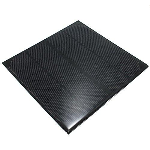 Bluelover 6V 4.5 W 520Mah Mini Monocristallino Pannello Solare Epossidico Pannello Fotovoltaico