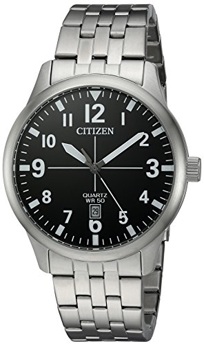 Citizen-Mens-Quartz-Stainless-Steel-Casual-Watch-ColorSilver-Toned-Model-BI1050-81F