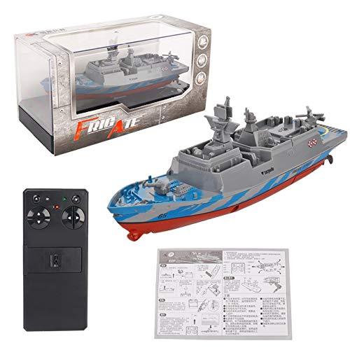 2.4GHZ Mini RC Barco Control Remoto RC Carrier Pesca de Cebo Vivo Buques de Guerra Juegos de Construcciã³n