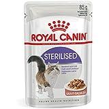 Royal Canin Sterilised - Cibo umido per gatti adulti sterilizzati, 12 x 85 gr