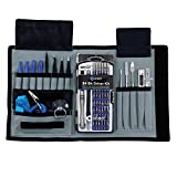 iFixit Pro 70 in 1 Precision Screwdriver Driver Kit w/ Tweezers / Magnet / Electronics Repair Tools Kit for iphone MacBook / Cellphone / PC / Laptop / Small appliance Disassemble With Canvas Tool Roll