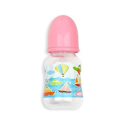 Amazon.com: kaydora Reborn Baby Pink botella de alimentación ...