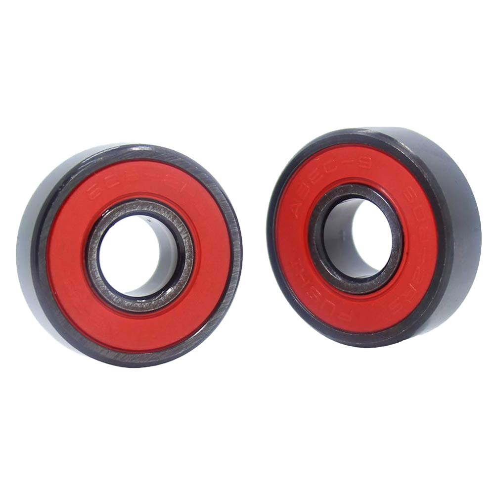 Pick of 8Pcs 608RS Bearing 8mm x 22mm x 7mm High Speed ABEC-9 Ball Bearings 608 for Justice Skateboard