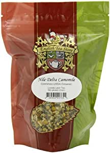 English Tea Store Loose Leaf, Organic Nile Delta Camomile Tea Pouches, 2 Ounce by English Tea Store