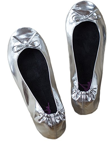 Chaussons Chaussons Femme Ballerina2go Silber Silber Chaussons Ballerina2go Ballerina2go Femme D'intrieur D'intrieur O5qxgO