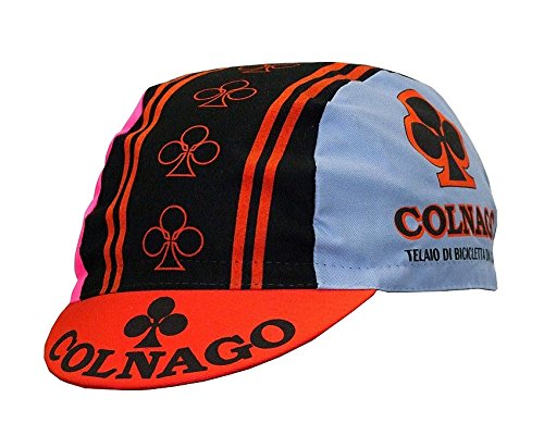 Colnago White Men Can't Jump Movie Cycling Cap with Flip Up Peak