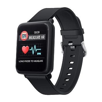 Amazon.com: Smart Watch IP68 - Reloj inteligente de natación ...