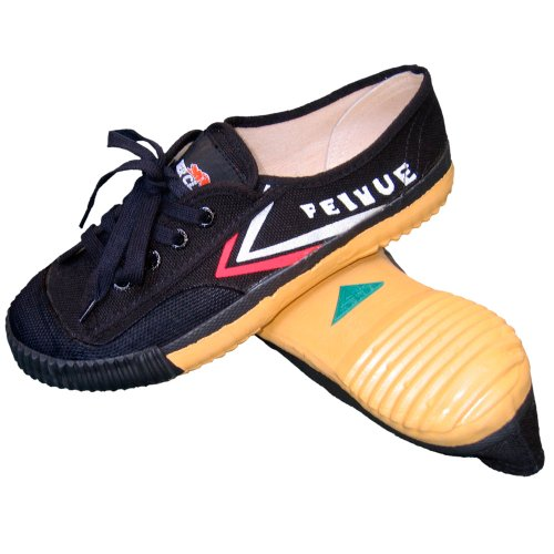 Tiger Claw Feiyue Martial Arts Shoes - Black - Size 38